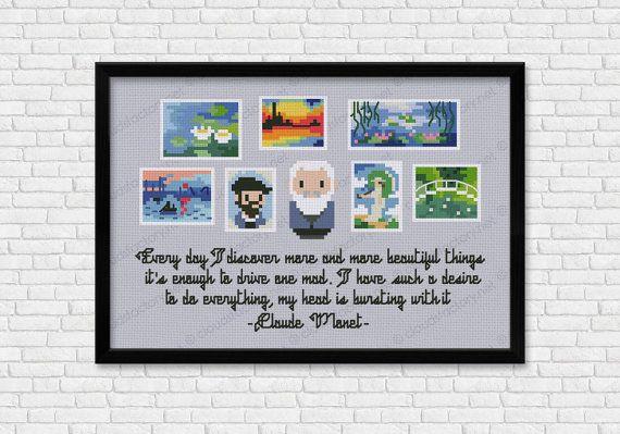 Claude Monet Mini Artists Galleries PDF cross by cloudsfactory