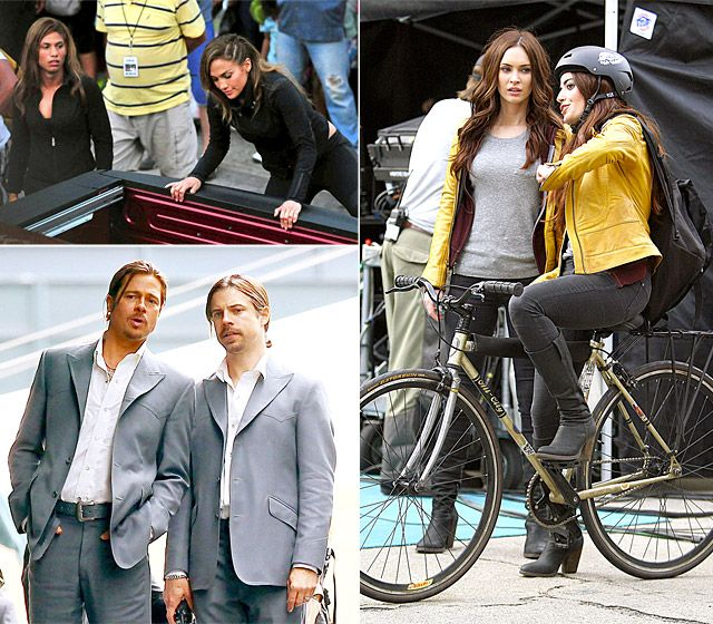 20+ Famous Movie Stars With Their Stunt Doubles