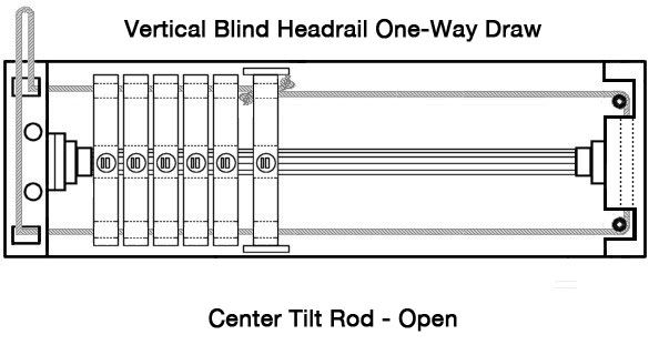 Vertical Restring Diagrams Vertical Blinds Blind Repair