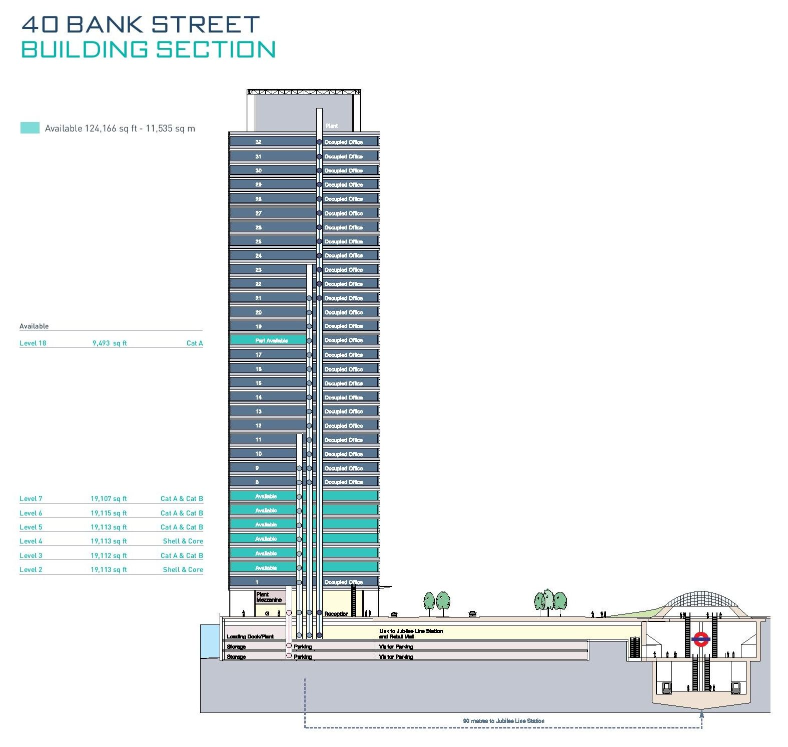 Macy S Herald Square Floor Plan: 40 Bank Street Floor Plans, Canary Wharf, London