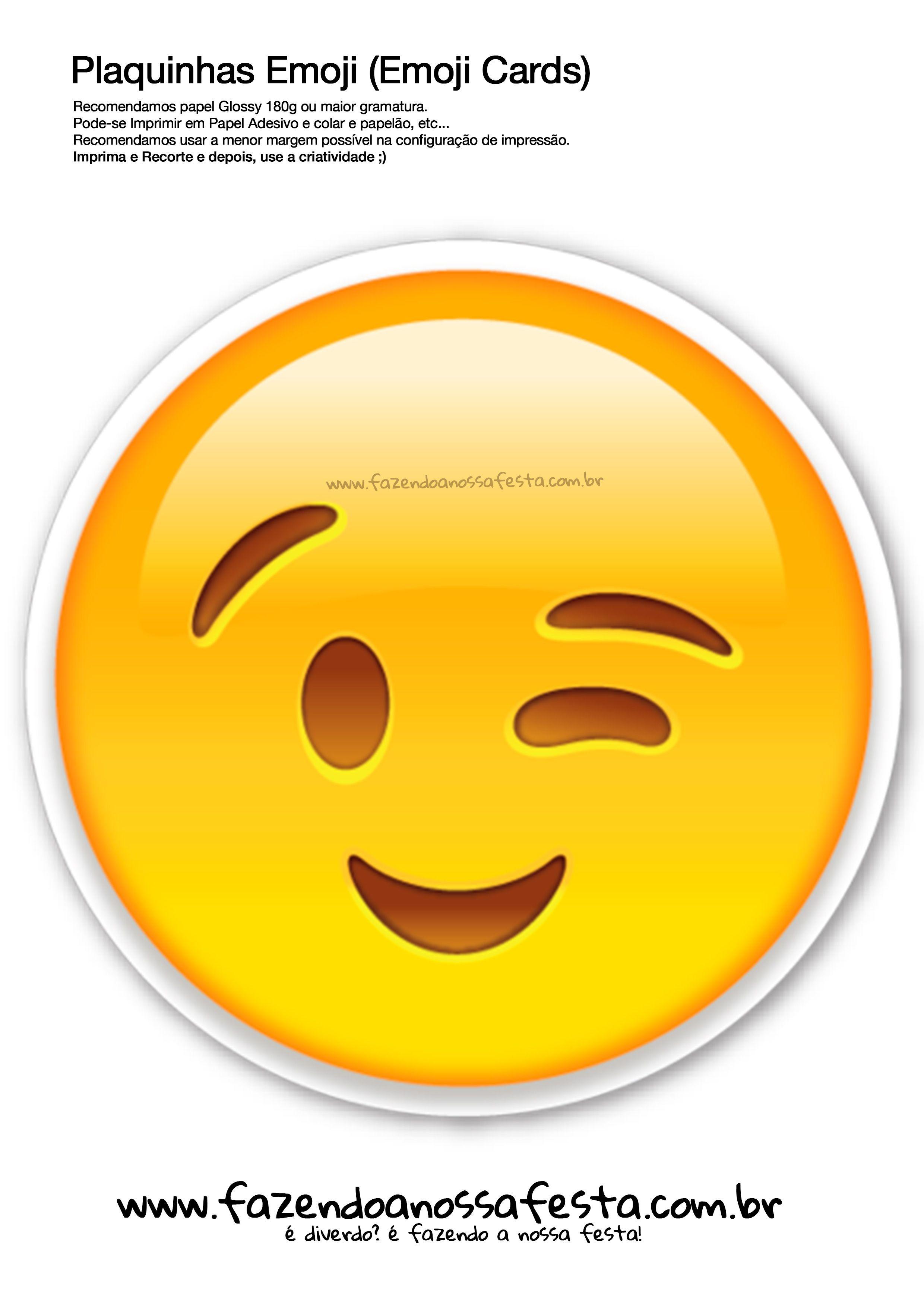 Veja o que temos para plaquinhas emojis 109 emoji