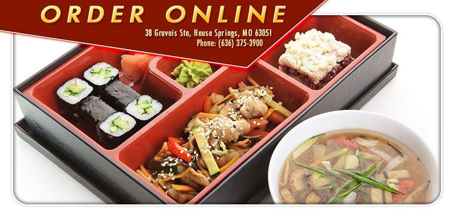 Osaka sushi grill order online house springs mo