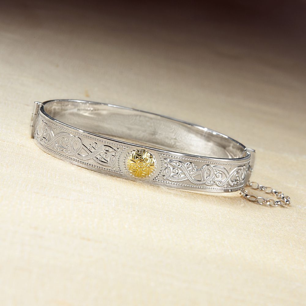 Celtic warrior bangle national geographic store art wearable