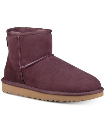 71dd95c4aa5 Ugg Women's Classic Ii Genuine Shearling-Lined Mini Boots - Red 11 ...
