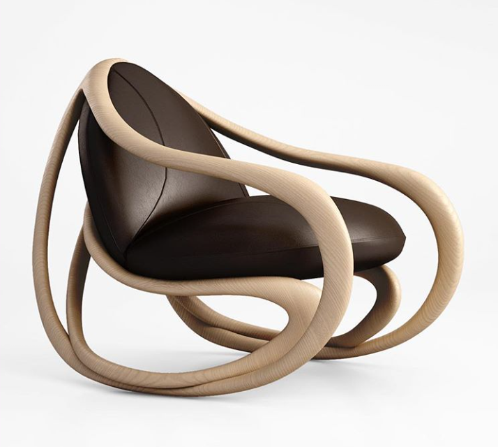 Hip, Avant Garde Chairs! Move, A Rocking Armchair Designed By Rossella  Pugliatti For