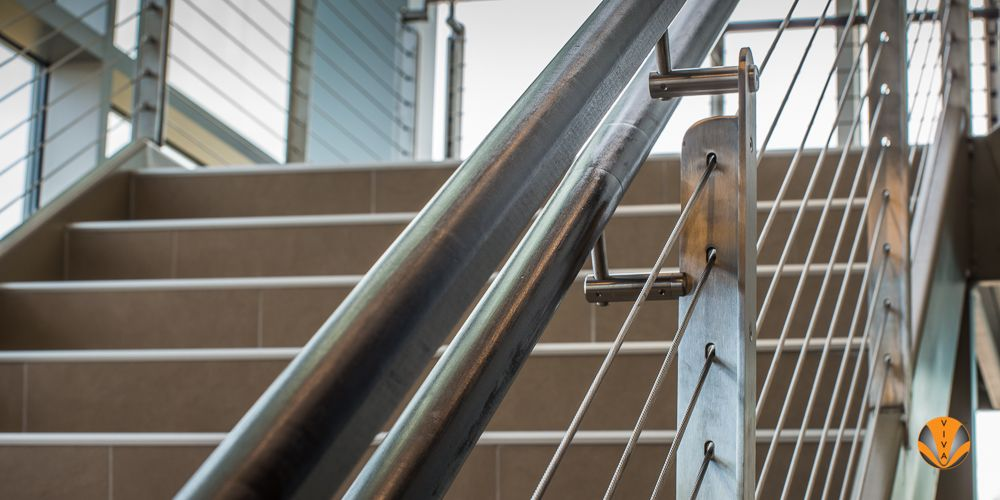 MEDICAL CENTER Cable railing,