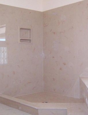 Not Ju0027s Shower   But An Example Of Cultured Marble: QUESTION: I Have