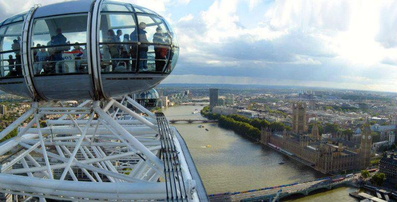 5 curiosità sul London Eye, la ruota panoramica di Londra