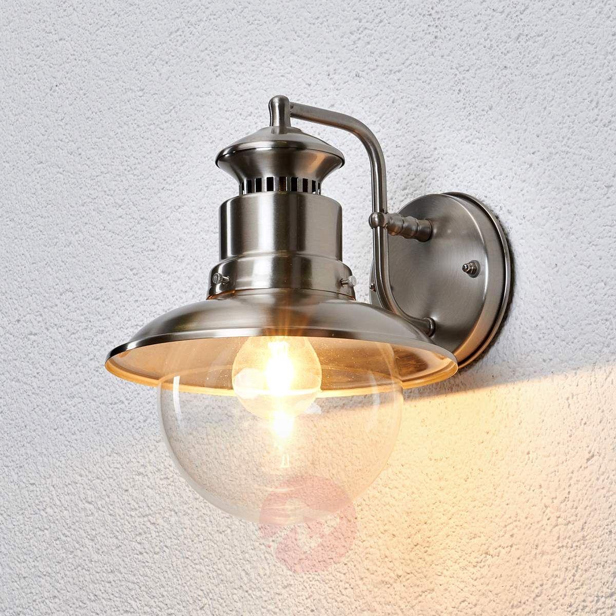 Gwendolyn Zewnętrzna Lampa ścienna Stal Szl Lampy