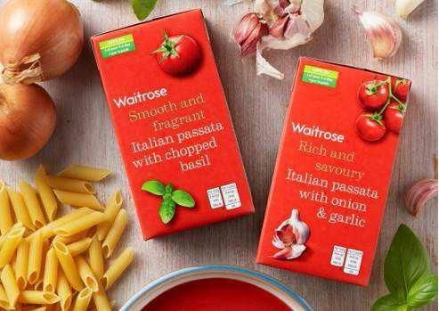 Waitrose moving away from glass jars to carton packaging