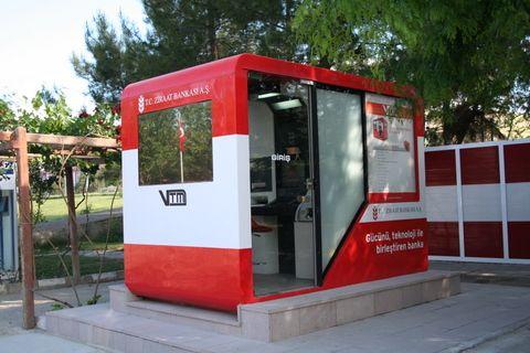 Ziraat Bank Vtm Outdoor Structures Shed Kiosk