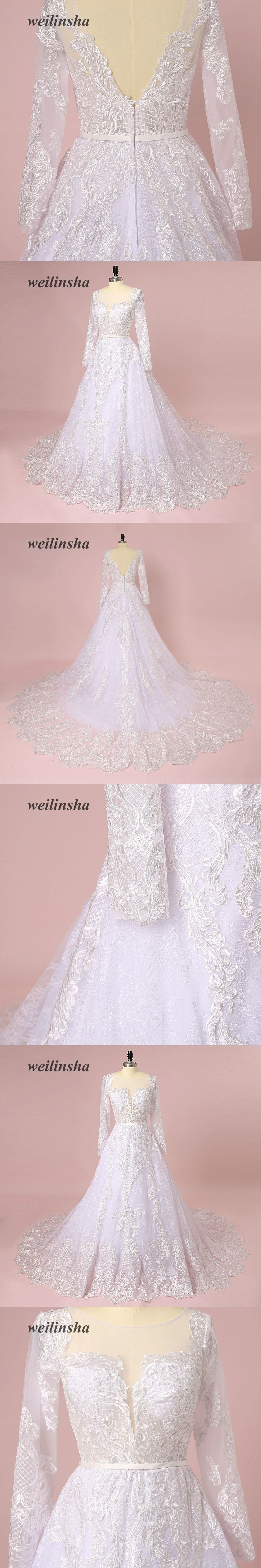 Weilinsha new arrival luxurious wedding dresses vintage style