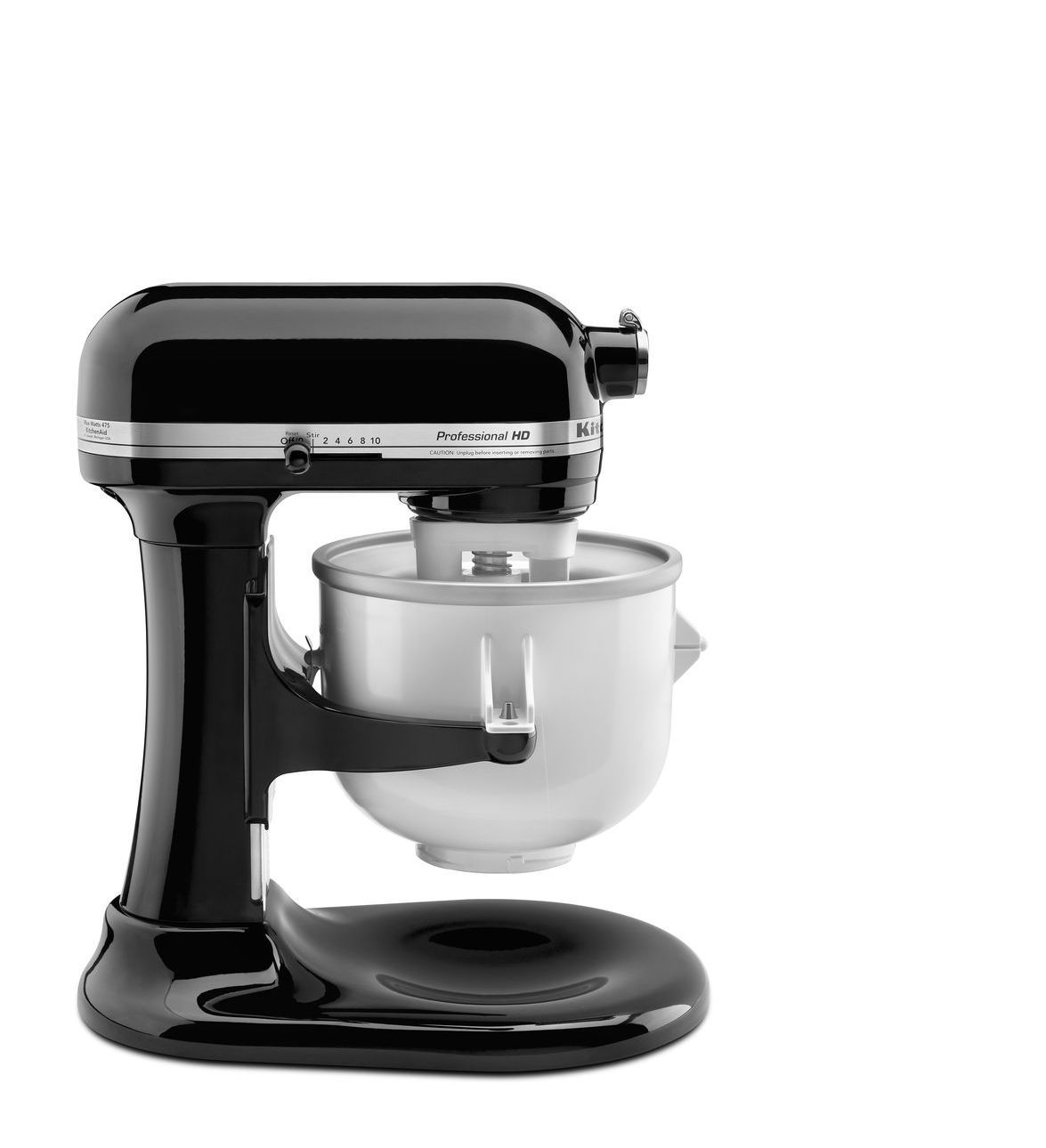 Kitchenaid ice cream maker attachment with images