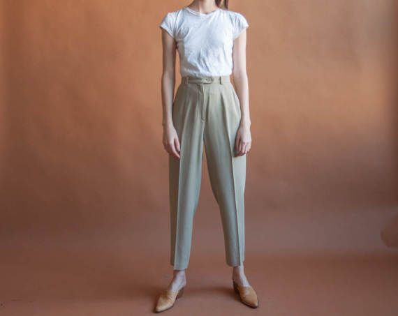 philosophy di ALBERTA FERRETTI cropped wool by persephonevintage