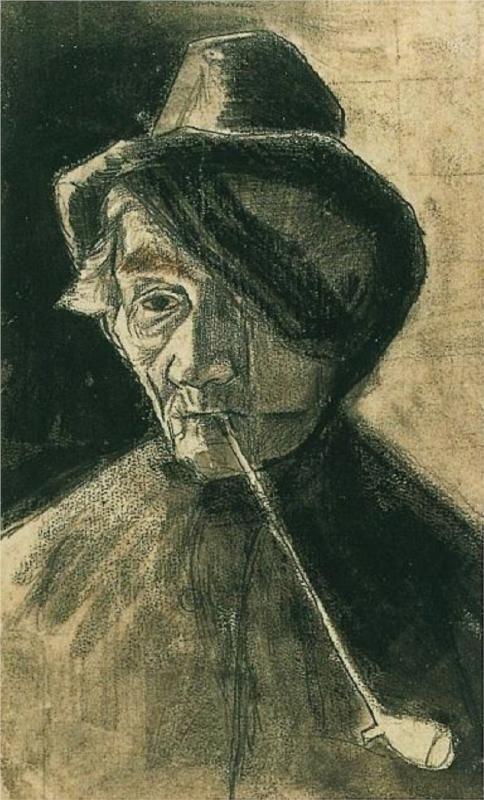 Fisherman on the Beach - Vincent van Gogh - WikiPaintings.org