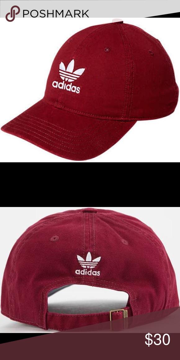 090011631ed Adidas Hat From the Originals Collection Classic cotton baseball cap with  signature trefoil logo Medium pre