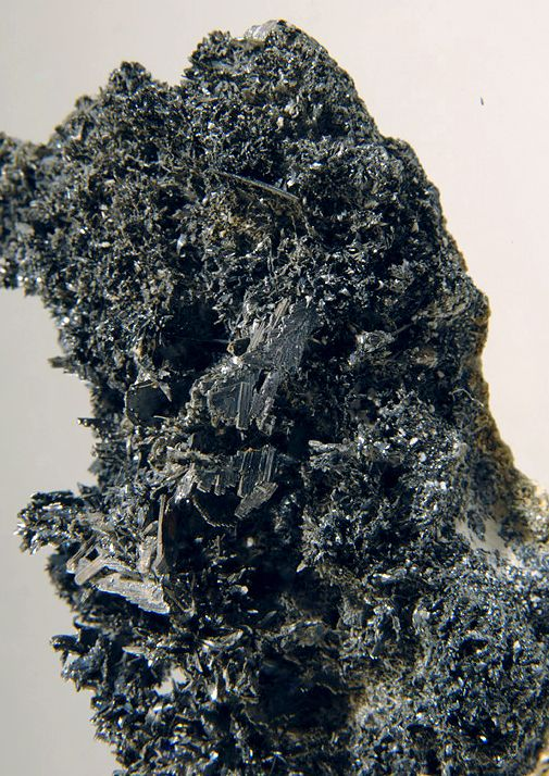 Franckeite var Potosiite San Jose Mine, Oruro Oruro Department, Bolivia Taille=7.5 x 4.6 cm