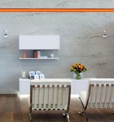Decorative replica concrete wall paneling Indoors Pinterest