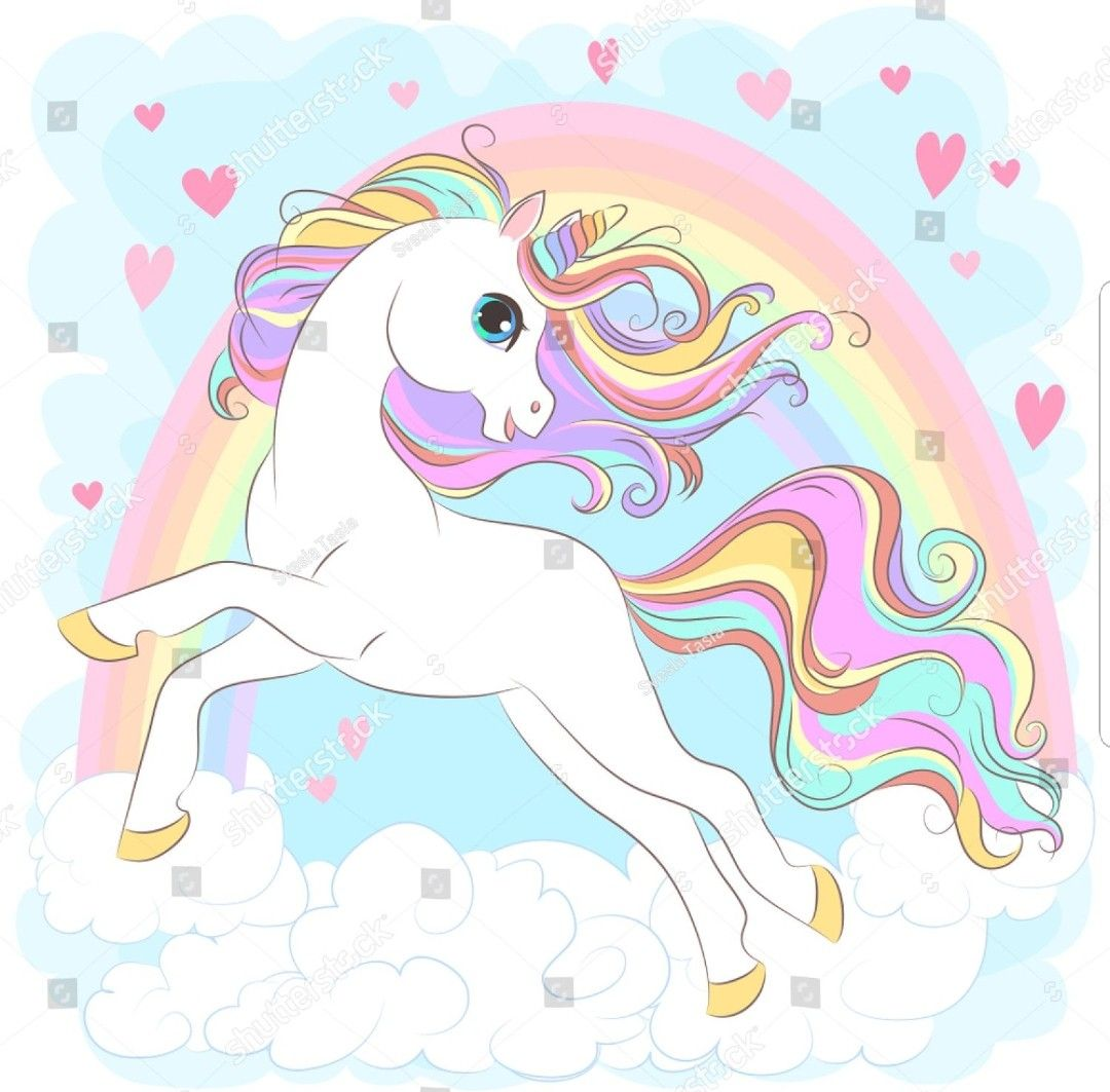 Pin By Sarah Maurer On Unicorns With Images Hair Vector