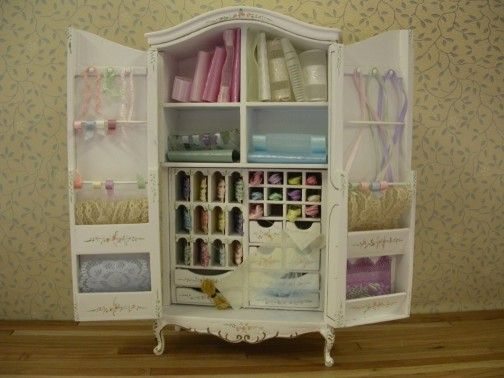 Attrayant Sewing Armoire To Put In Your Craft Room