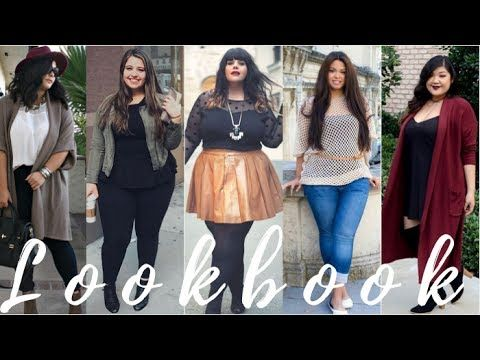 b867ba1e2ba Fall 2017   Winter 2018 Plus Size and Curvy Outfit Ideas - YouTube ...