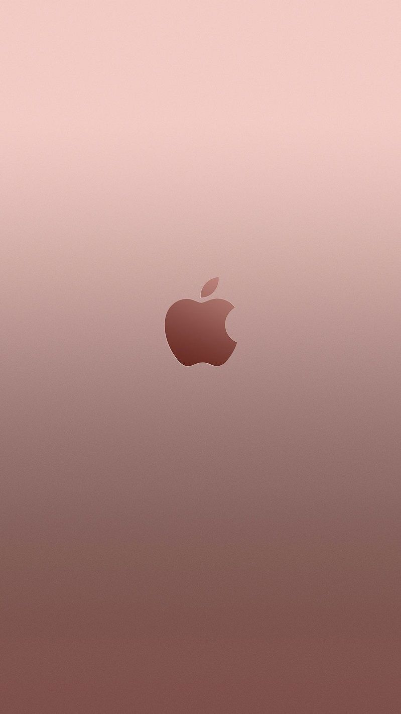 Rose gold iPhone wallpaper