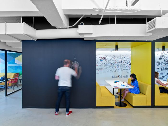 linkedin new york office. LinkedIn NYC Designer: M Moser Associates Photography: Eric Laignel Location: New York City Linkedin Office D