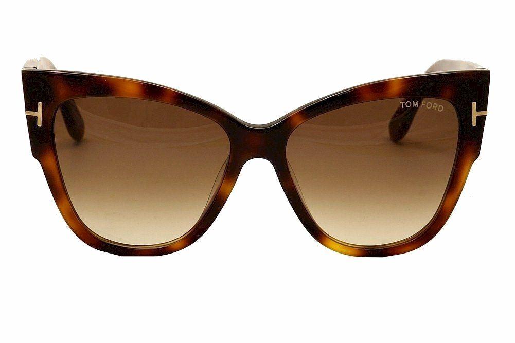 Amazon Com Tom Ford Anoushka Ft0371 Sunglasses 53f Blonde Havana Gradient Brown Lens 57mm Clothing With Images Sunglasses Womens Glasses Tom Ford
