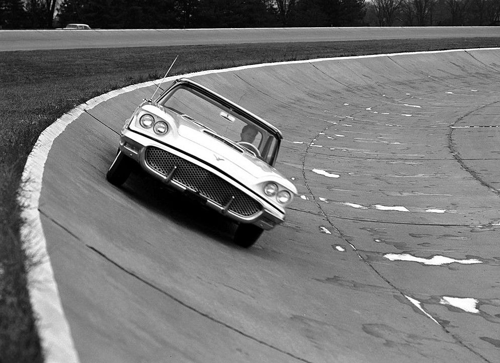 Ford Proving Grounds… '58 Thunderbird
