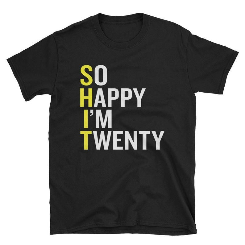 20th birthday shirt funny 20 years old gift t shirt
