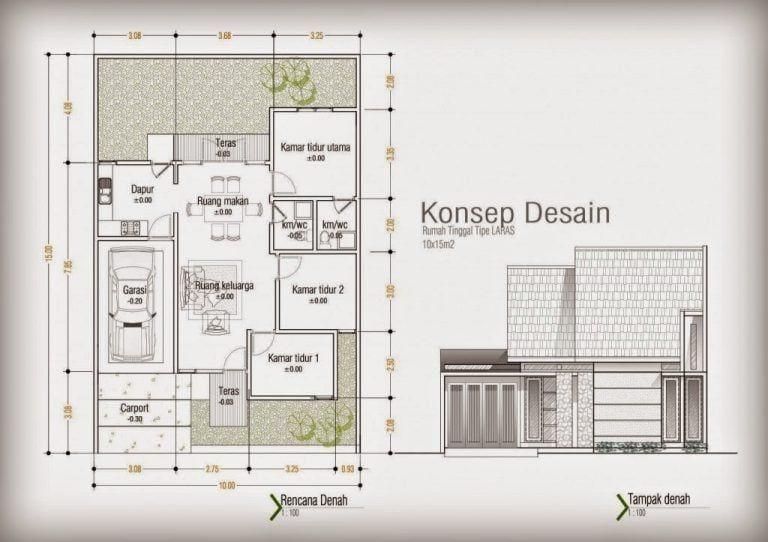 Desain Rumah Minimalis Modern 10 X 12 Arcadia Desain Rumah Minimalis Desain Rumah Minimalis Desain Rumah