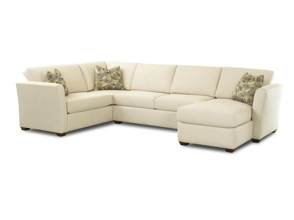 Karssens Living Room Options Fabric Sectional W Contrasting