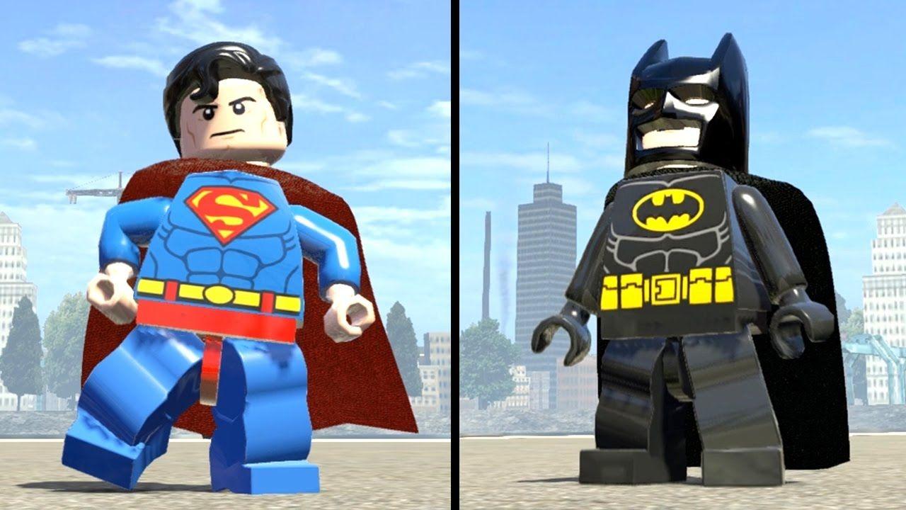 Marvel Super Heroes 60 Superhéroes: LEGO BATMAN Vs SUPERMAN + (Free Roam Gameplay) LEGO Marvel