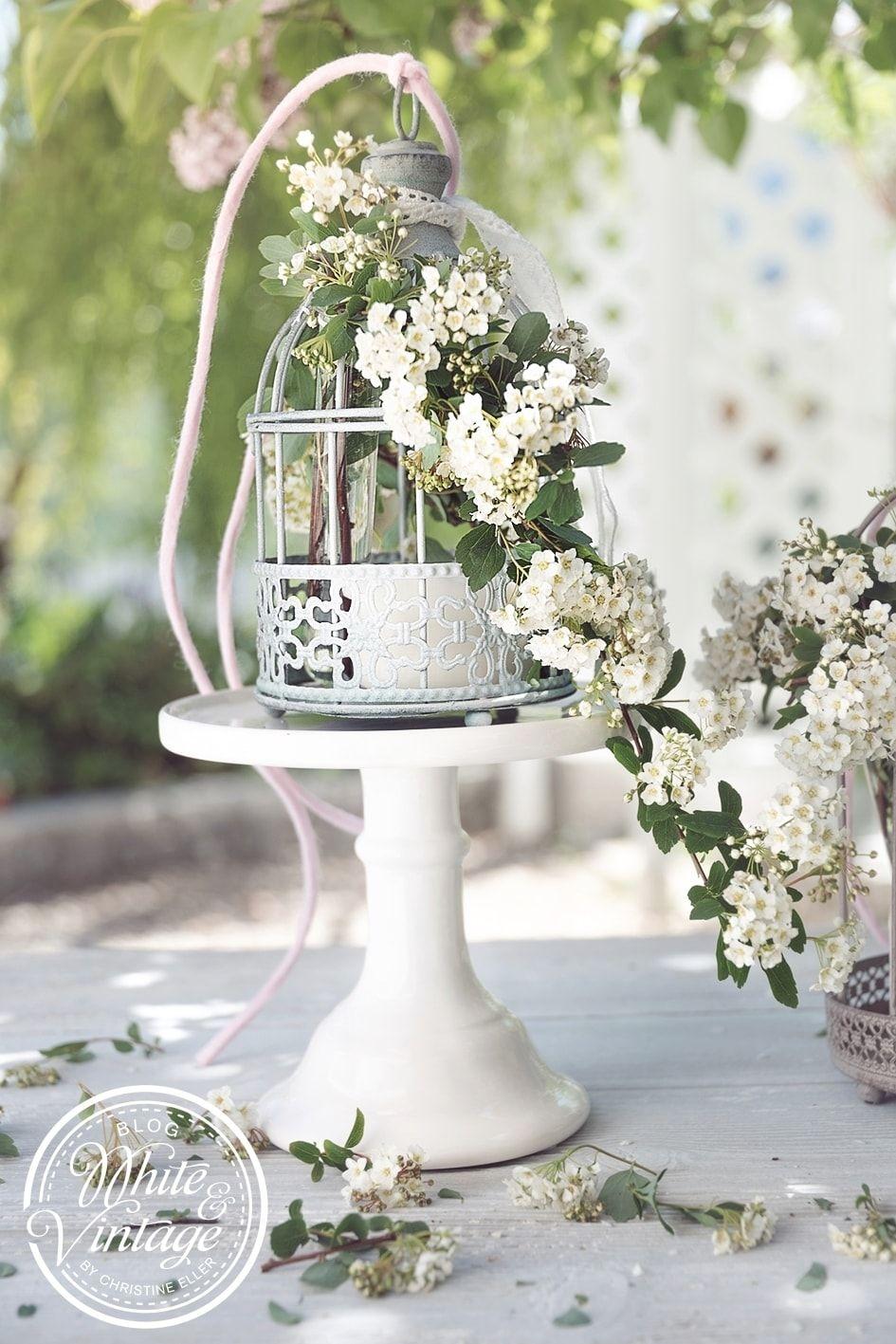 Romantische Hochzeitsdeko Im Vintage Look Selber Machen Deko