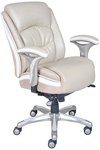 Off White Office Chair Throughout Serta Smart Layers Manager Serenity Office Chair Offwhite u003eu003eu003e Click Image To Review More Detailsnoteit Is Affiliate Link Amazon