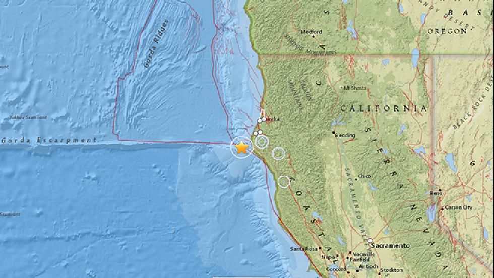 5 7 Magnitude Earthquake Shakes Northern California
