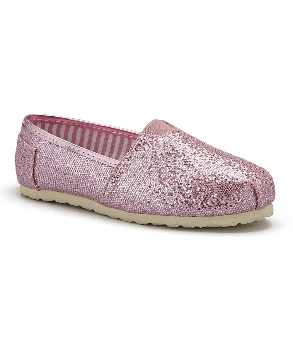 Look at this UNIONBAY Pink Sparkle Shelby Slip-On Shoe on #zulily today!