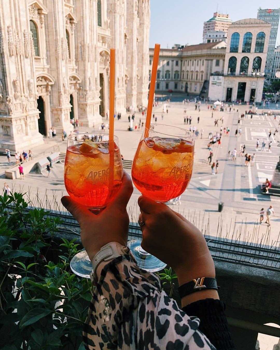 Terrazza Aperol Milan Italy Italy In 2019