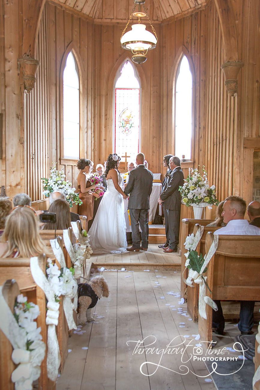 A Small Intimate Wedding Held In A Beautiful Old Rustic Church