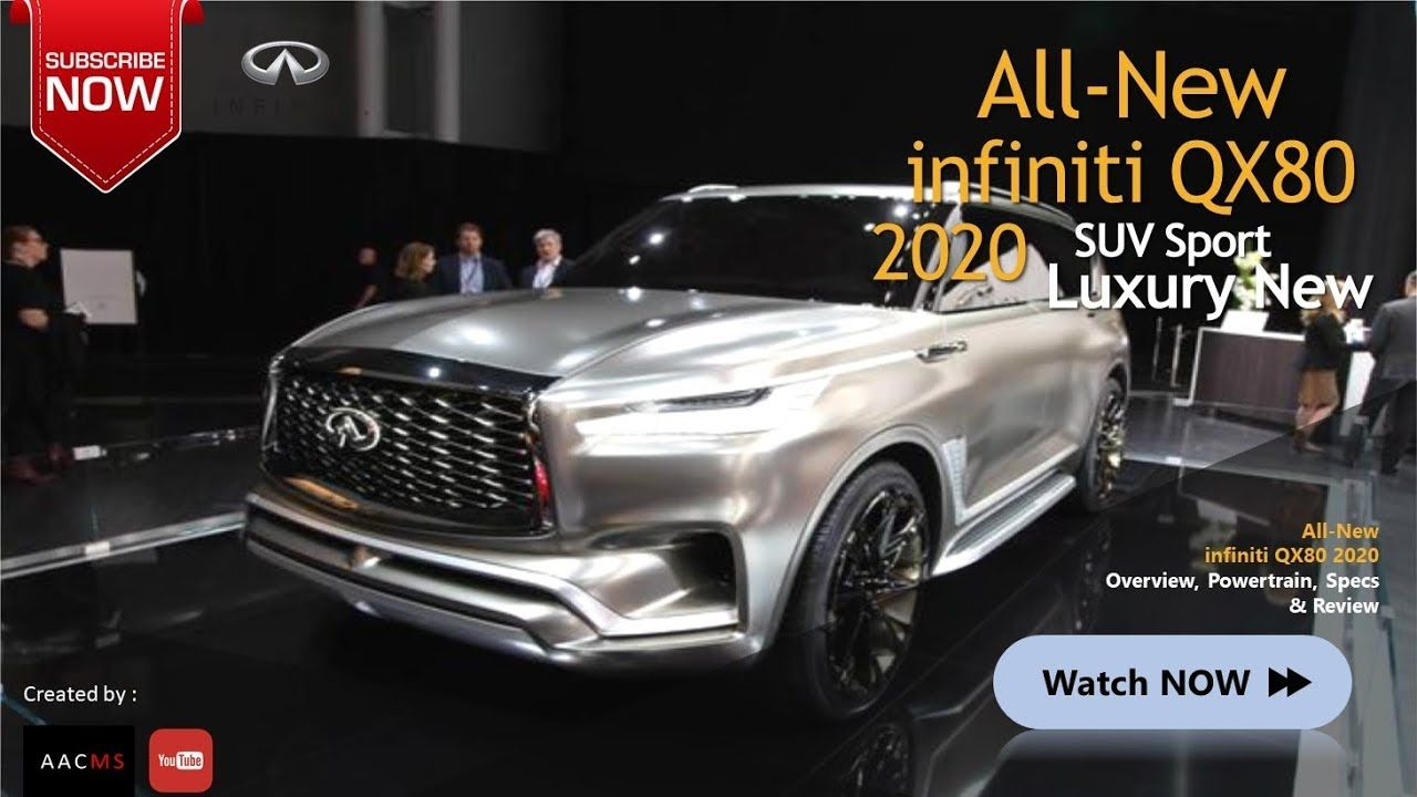 All New 2020 infiniti QX80 Big SUV Luxury & Elegant Car in ...