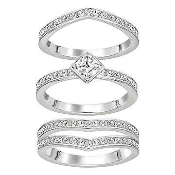 SWAROVSKI ALPHA RING, SIZE 55, 5181463 | Duty Free Crystal