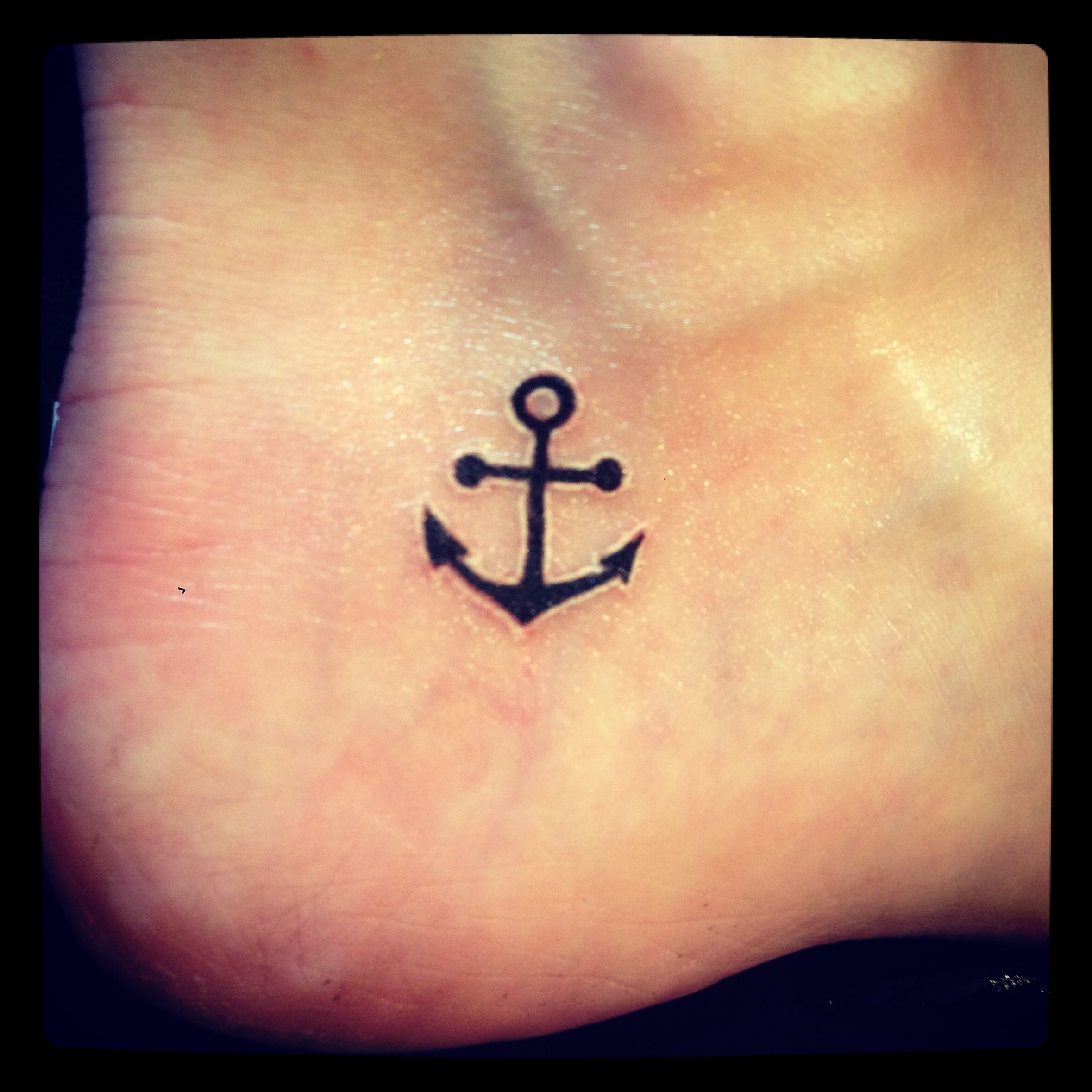 Anchor Tattoo. Love This. Different Place Tho.