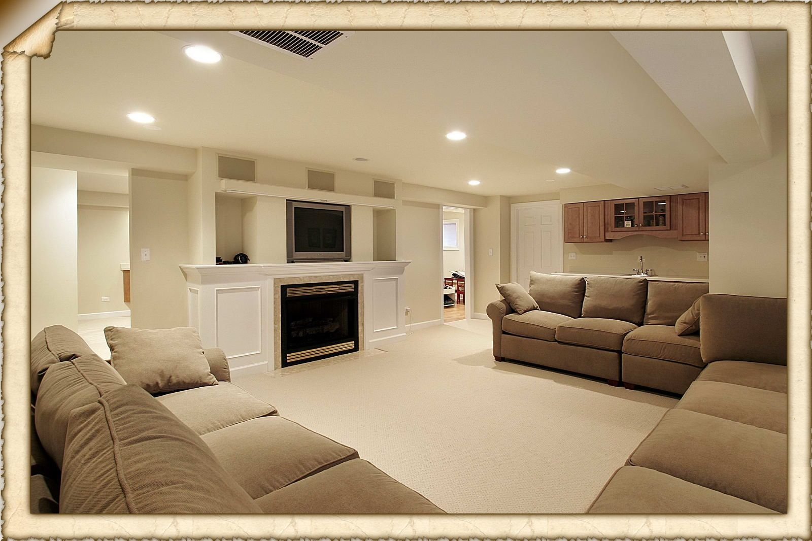denver interior design - 1000+ images about Basement on Pinterest Basement ideas ...