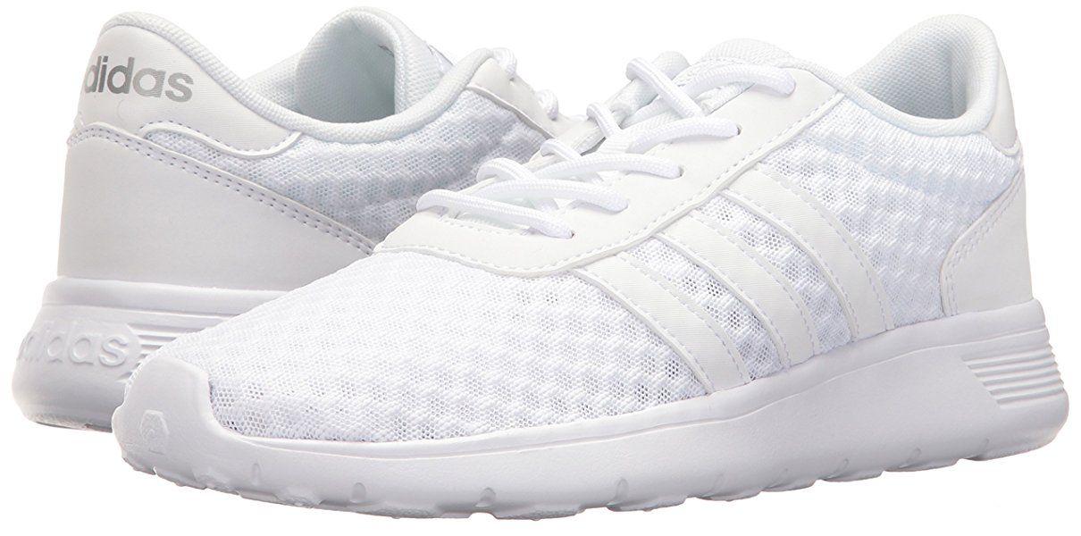 Adidas Neo Women S Lite Racer W Sneaker Black White 7 5 M Us Adidas Women Womens Clothing Uk Adidas