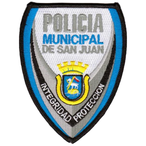 Us Territory Of Puerto Rico City Of San Juan Municipal Police Department Patch Police Police Badge Police Department