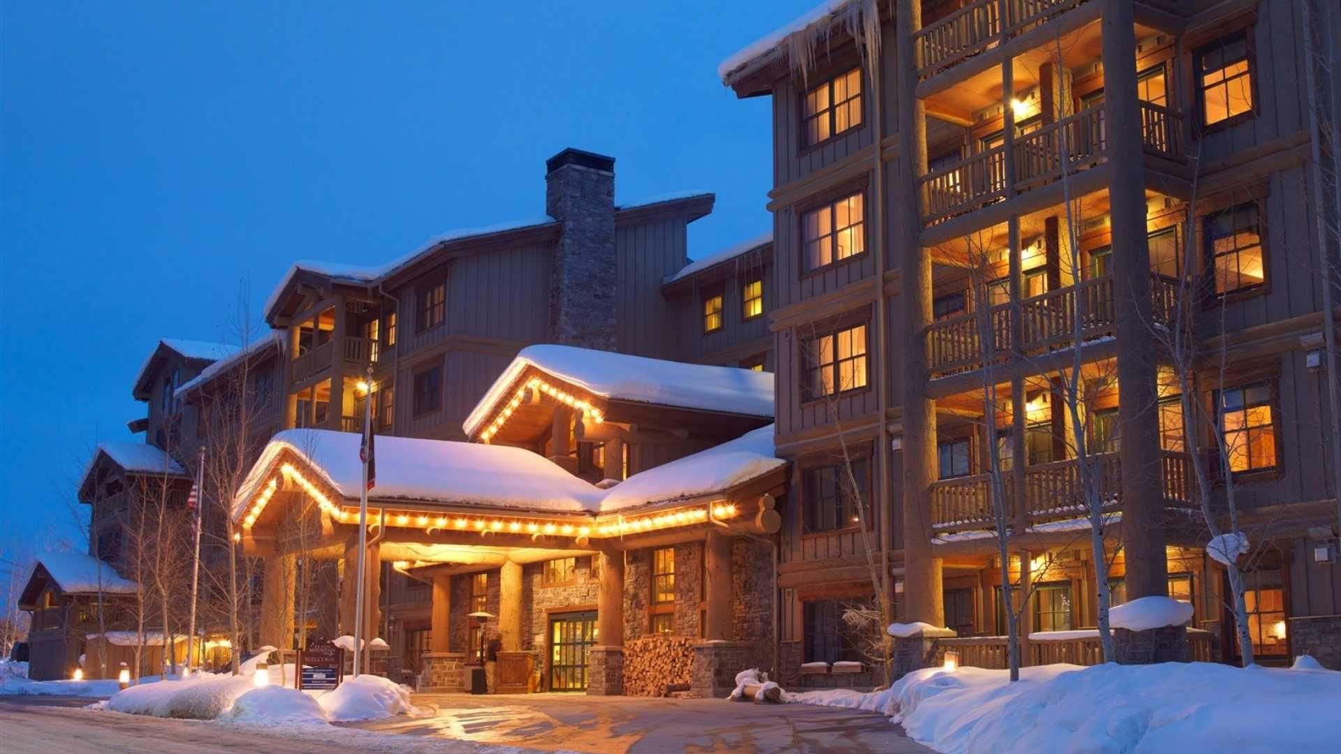 Possible Honeymoon-Teton Mountain Lodge and Spa - Teton