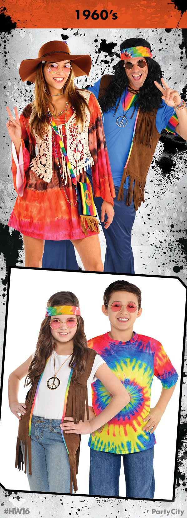 Get your 1960s costumes for the whole family from Party City ...