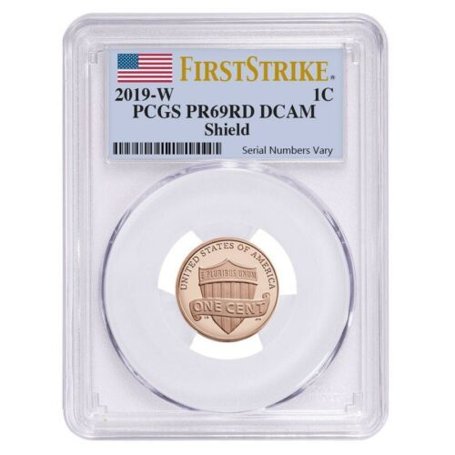 2019-S 1C LINCOLN Penny From 10-Coin Silver Proof Set NGC PF 70 Portrait Label