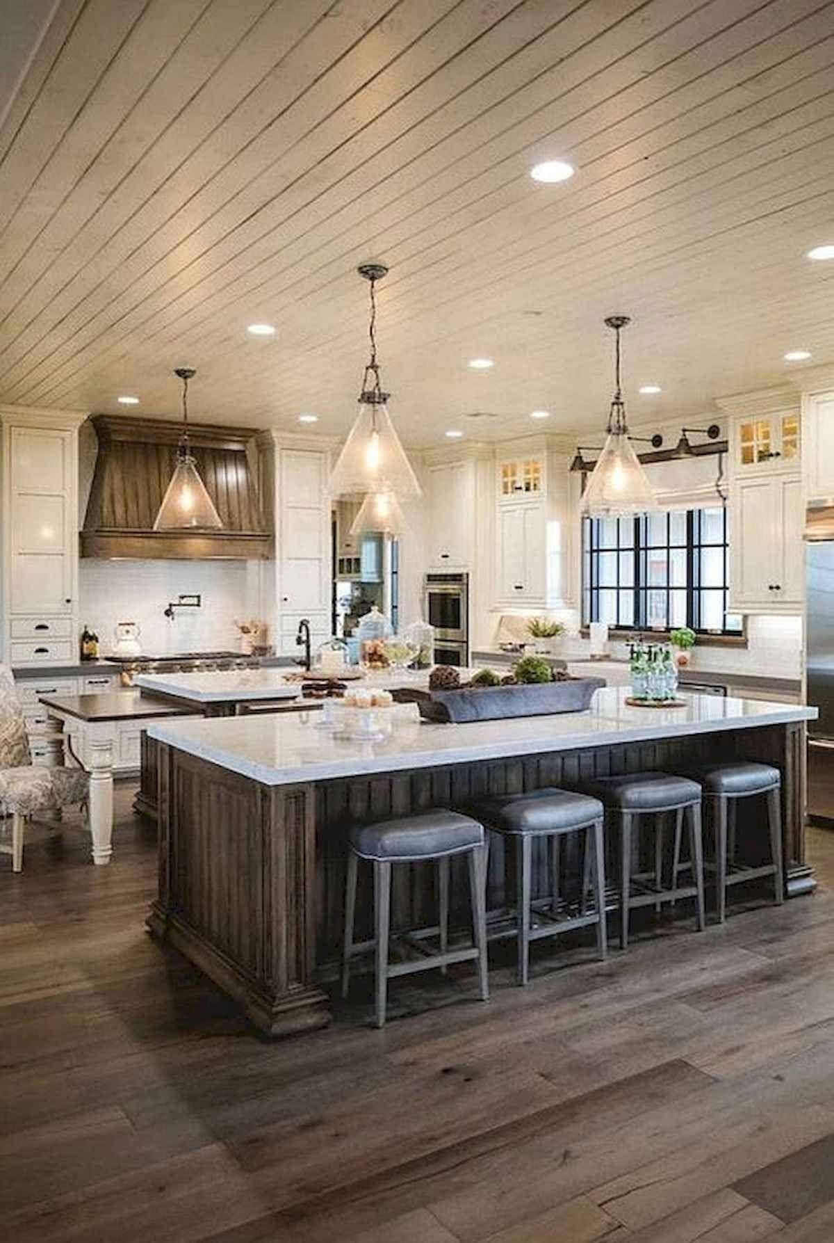 50 Best Modern Farmhouse Kitchen Island Decor Ideas Modern Farmhouse Kitchens Kitchen Island Decor Farmhouse Kitchen Island