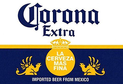 Corona Poster La Cerveza Mas Fina Delicious Mexican Bee Https Www Amazon Com Dp B008y1kcau Ref Cm Sw R Pi Beer Label Corona Beer Cake Corona Beer Party